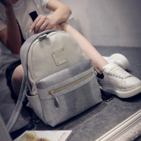 Fashion Women Backpacks Leather Travel Bag Daypack