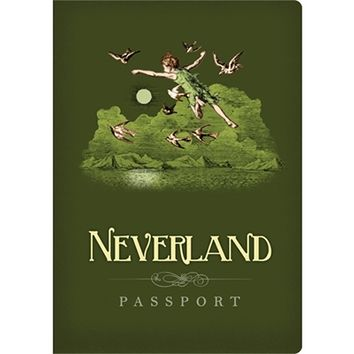 Neverland Passport - Pocket Notebook