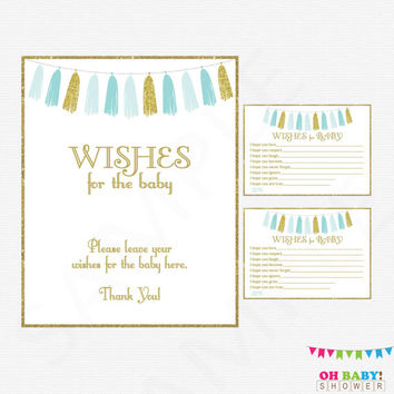 Best Baby Shower Wish Cards Products On Wanelo