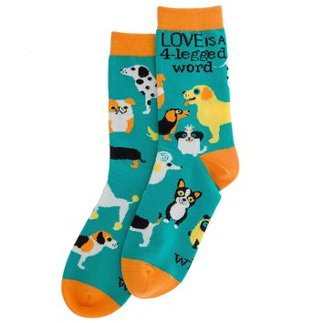 Wit! Dogs One Size Socks