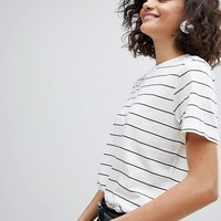 Selected Stripe Tee at asos.com