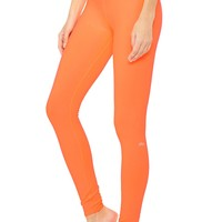 High-Waist Airbrush Legging - Solid