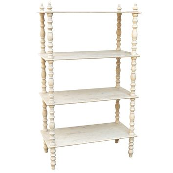 """60"""" Lyndsay Etagere Bookcase By Crestview Collections Sku Cvfzr1018"""