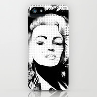 Marilyn undead.  iPhone & iPod Case by Kristy Patterson Design