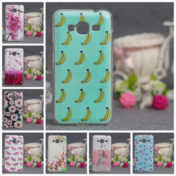 3D Painting Case For Samsung Galaxy J3 j 3 2016 J320 J320F Soft TPU Silicone Phone Cover Case Coque Cute Painted Gel Phone Coque