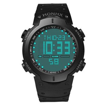 ac NOOW2 Relogio Masculino 2017 Fashion Men's Boy LCD Digital-Watch Stopwatch Date Rubber Silicone Sport WristWatches For Men #63
