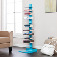 Colonne Media Storage - Blue
