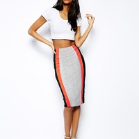 ASOS Pencil Skirt In Colo