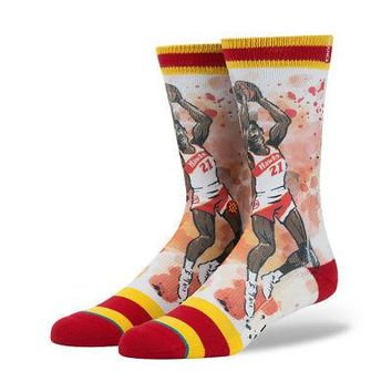 Stance x Todd Francis NBA Legends Authentic Men's Crew Socks - NIQUE - L/XL