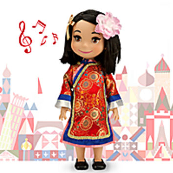 ''it's a small world'' China Singing Doll - 16''