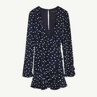 POLKA DOT JUMPSUIT DRESS - JUMPSUITS-WOMAN | ZARA United States