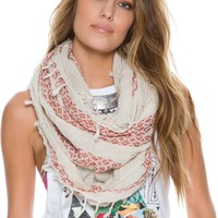 ALEXANDROS EMBROIDERED SCARF