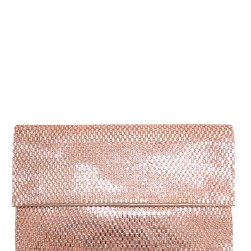 Diana Clutch in Rose Gold