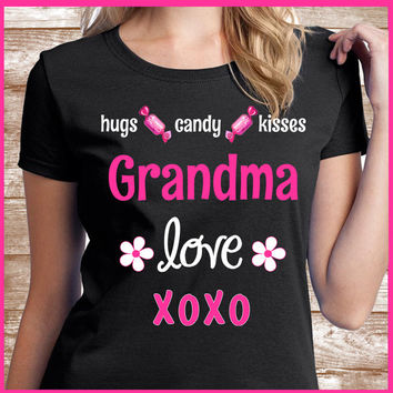 Grandma Shirt A great grandmother gift for your Grandma. Also names such as Mimi & Nana.  All grandmas will love to wear this Grandma TShirt