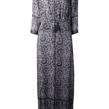 Tory Burch Floral Print Maxi Dress