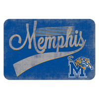 Memphis Tigers NCAA Kitchen Rug (Swoosh Series) (20x30)