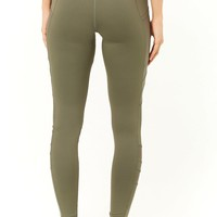 Active Mesh Panel 7/8 Leggings