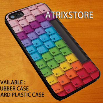 keyboard rainbow,Accessories,Case,Cell Phone,iPhone 5/5S/5C,iPhone 4/4S,Samsung Galaxy S3,Samsung Galaxy S4,Rubber,24-06-9-Xm