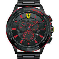 Ferrari Mens Scuderia XX Black and Red Watch