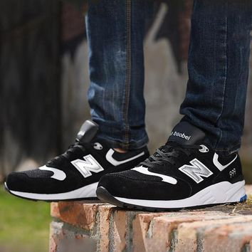 New Balance ML999MMT Fashion Running casual shoes Black silver N