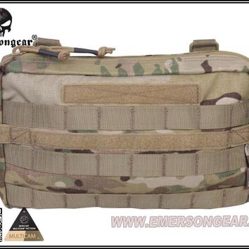 Emersongear Fight Multi-functional Utility Pouch Molle Military Combat Gear Nylon Waist Bag EM8347 Multicam Black Coyote Brown