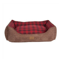 Pendleton Kuddler Dog Bed — Red Ombre