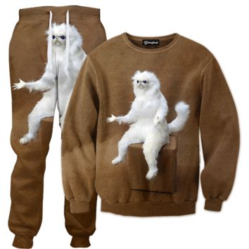 Persian Cat Room Tracksuit