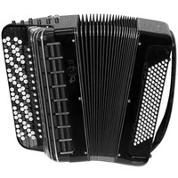 Brand New, Russian, Concert, Professional Bayan MIR, Converter Free Bass & Stradella, Chromatic Button Accordion, High-class Musical Instrument, Tula Bn 2, 5 Rows, 120 Bass, Solid Metal Treble and Bass Reeds.