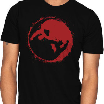 batman vs superman yin and yang shirt