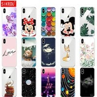 Silicone phone Case For 5.8 inch iPhone X  Cover For iPhoneX Case soft TPU full 360 protective Cover For iPhone 10 Case