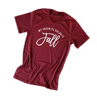 My Favorite Color is Fall | Short Sleeve Graphic Tee