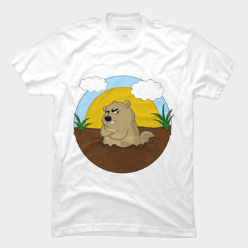Groundhog Day T Shirt By MomaArt Design By Humans