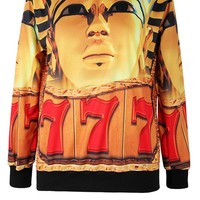 The Great Sphinx Sweatshirt - OASAP.com