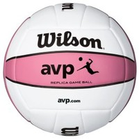 Wilson AVP Replica Pink Volleyball - Dick's Sporting Goods