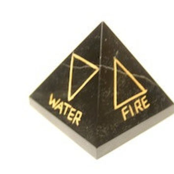 Element Pyramids Black Tourmaline