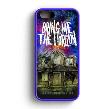Pierce The Veil Band Bring Me The Horizon Galaxy Nebula Parody iPhone 5 Case iPhone 5s Case iPhone 5c Case
