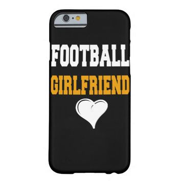 Football Girlfriend cute gift Barely There iPhone 6 Case
