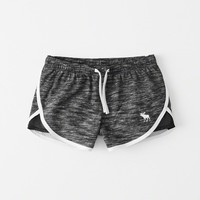 girls active nylon shorts | girls bottoms | Abercrombie.com