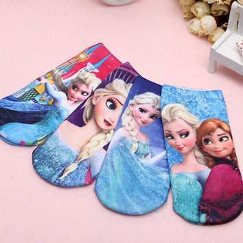 Frozen 3d Printed  Sock Set