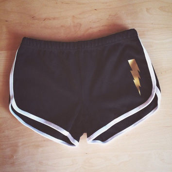 Bolt, The Boy Who Lived Shorts - Inspired by Harry Potter - Made in USA by So Effing Cute