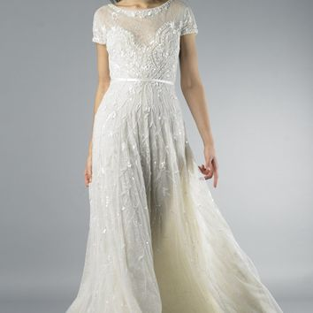 OffWhite Collection Milo Beaded Vintage Wedding Dress