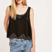 Ecote White Light Tank Top - Urban Outfitters