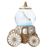 Disney Cinderella Glass Slipper Carriage Water Globe