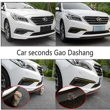 2.5 Mt auto-styling front lip bumpeer rubber stip for DODGE JCUV Journey RAM GMC CALIBER CHARGER CARAVAN NITRO CHAL accessories