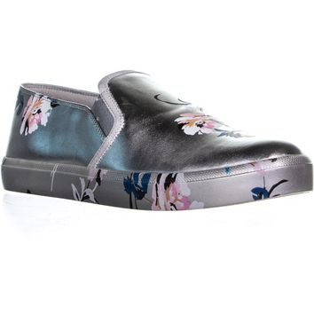 Jessica Simpson Dinellia Flat Slip On Sneakers, Platinum Multi, 9.5 US / 41 EU