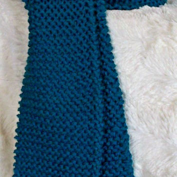 Winter Scarf-Turquoise