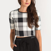 Nya Plaid Top