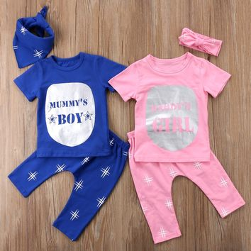 Matching Twins Baby Boy and Girl Clothing Set