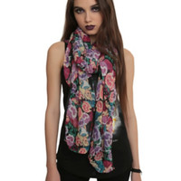 Disney Alice In Wonderland The Flowers Scarf