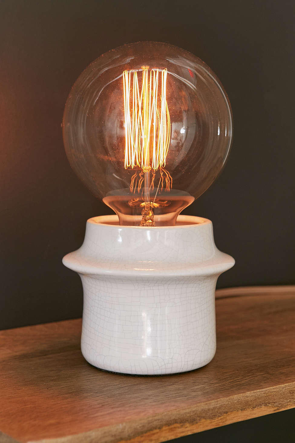 Petite Ceramic Table Lamp - Urban from Urban Outfitters